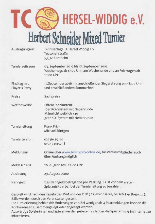 Herbert Schneider Mixed